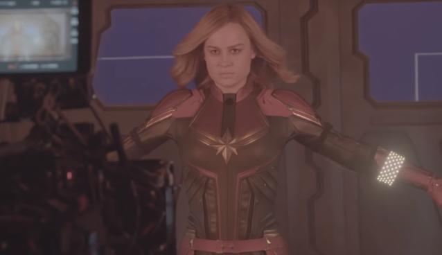 efectele speciale din Captain Marvel