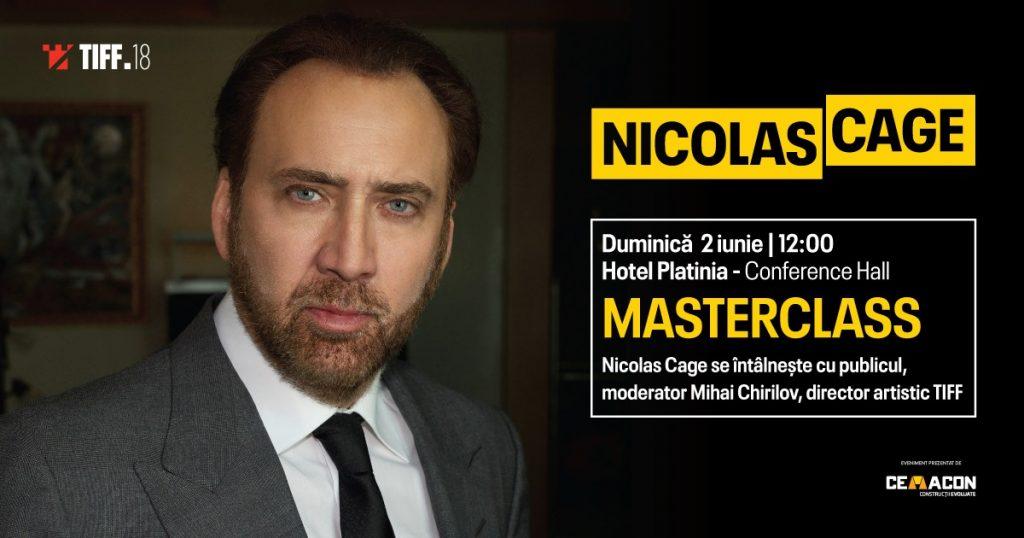 masterclass Nicolas Cage
